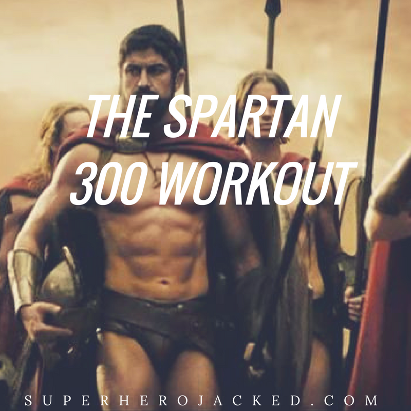Find Your Inner Spartan Workout