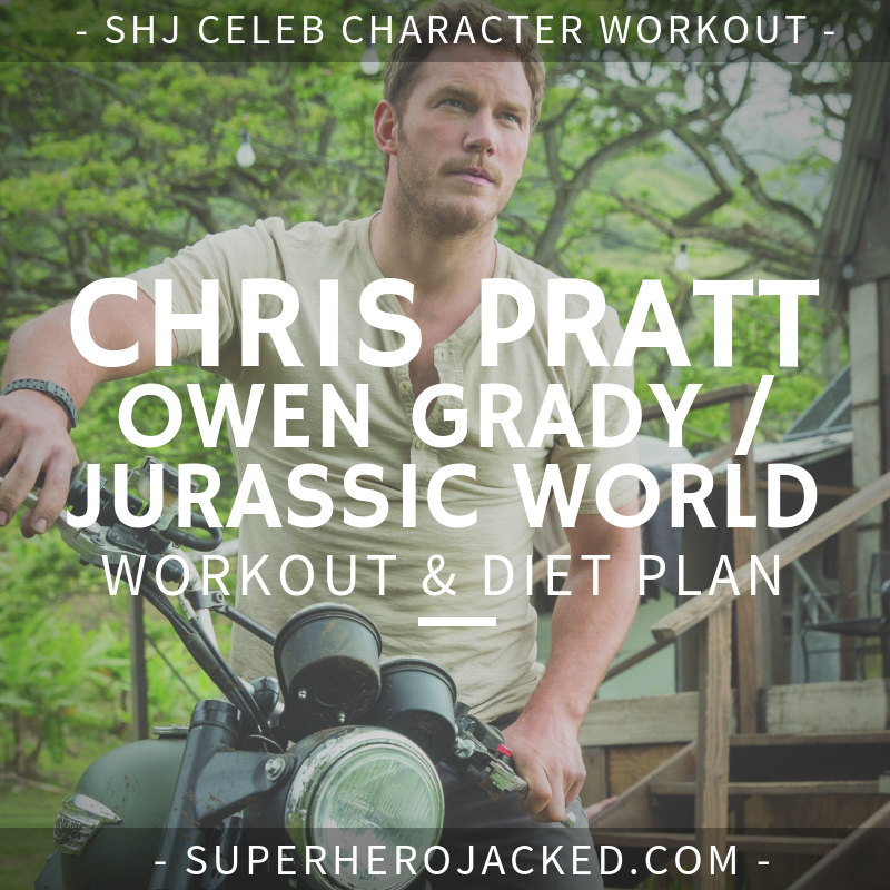 Chris Pratt Jurassic World Workout