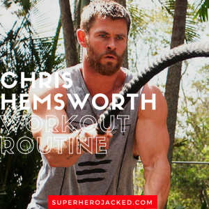 Chris Hemsworth Workout 1