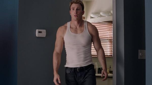 captain america evans wifebeater