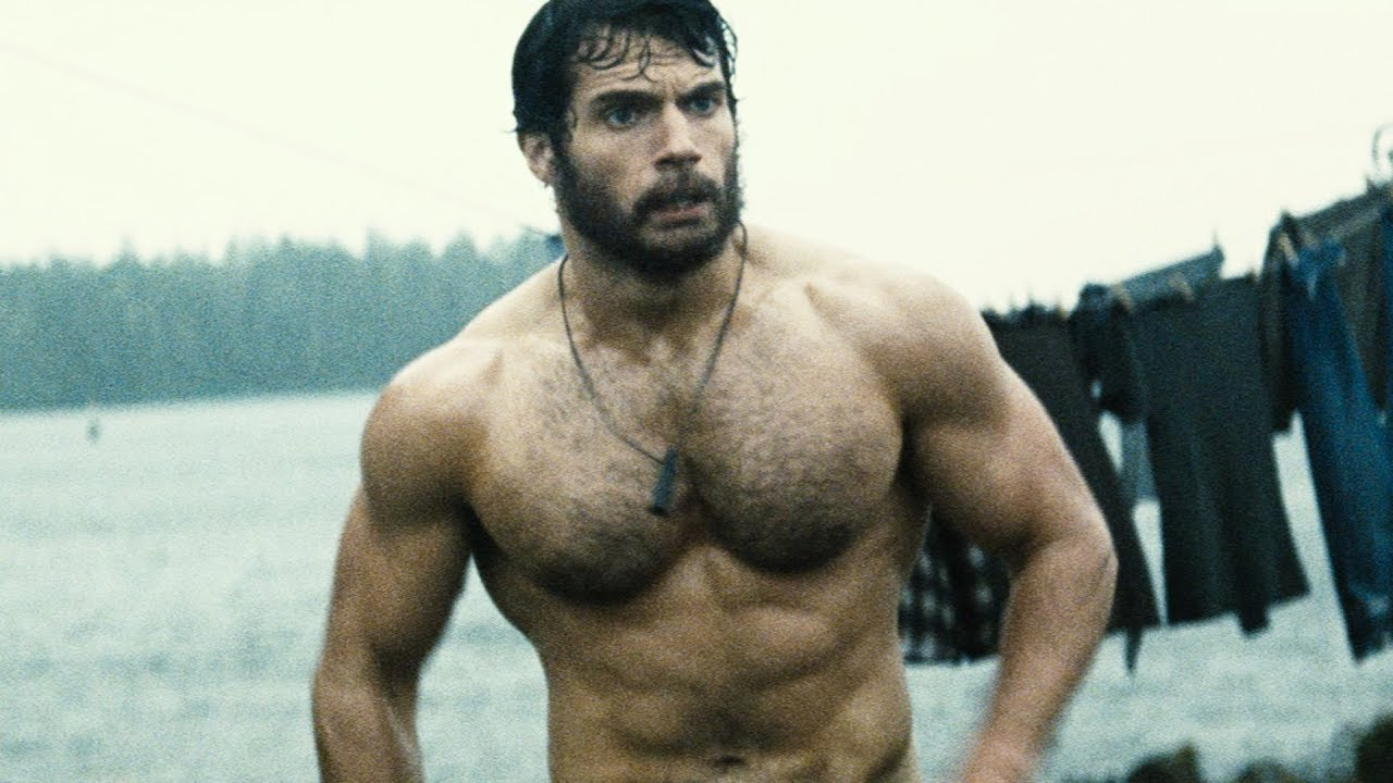 Henry Cavill Workout 2
