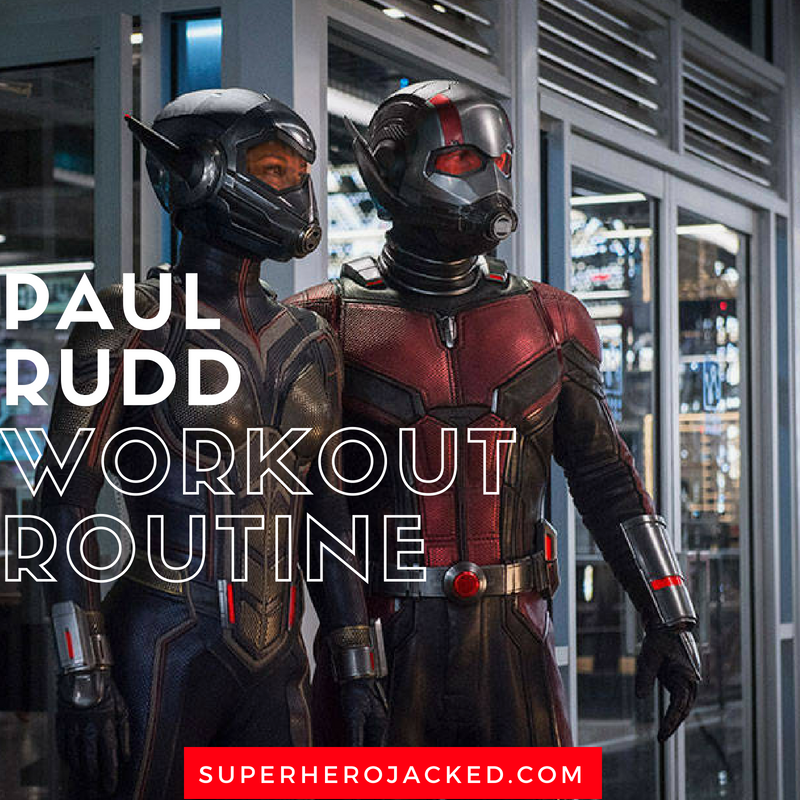 Paul Rudd Workout Routine
