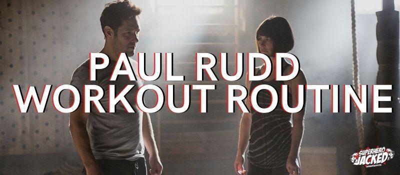 Paul Rudd Workout