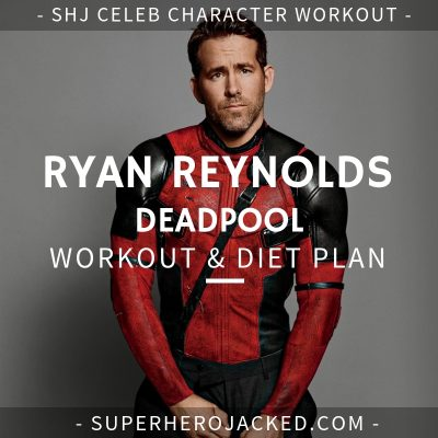 Ryan Reynolds Deadpool Workout and Diet