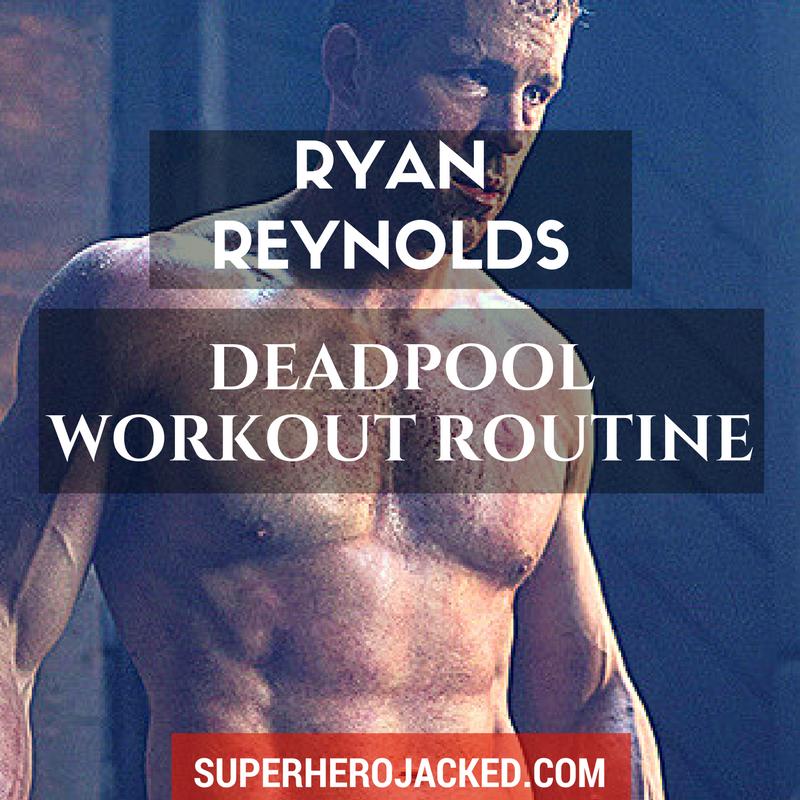The Free Ryan Reynolds Workout Routine Pdf
