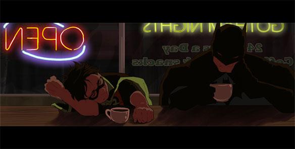batman robin coffee