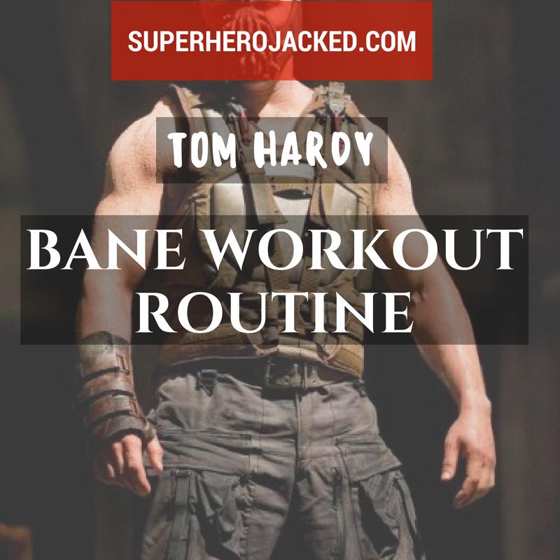Tom Hardy Bane Training
