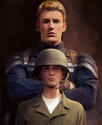 captain america before and after