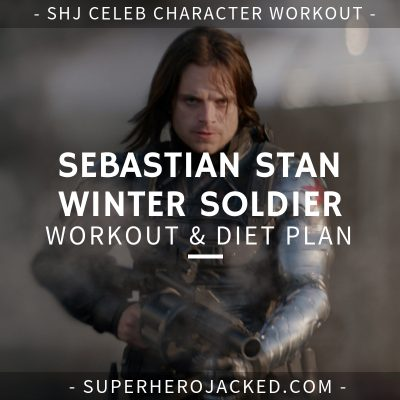 Sebastian Stan Winter Soldier Workout and Diet