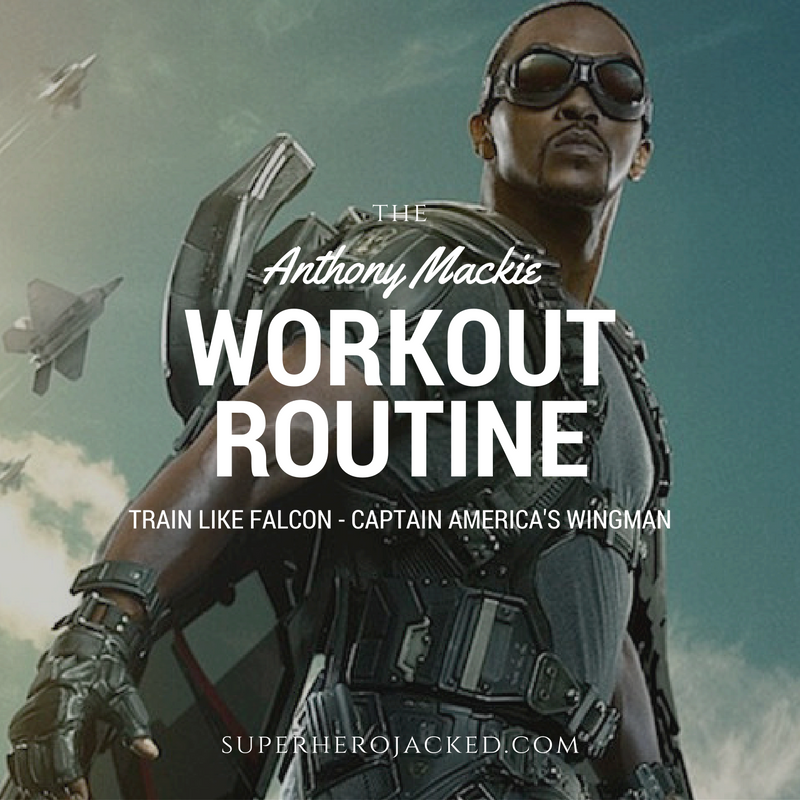 Anthony Mackie Workout