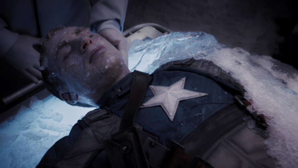 Remember that time Cap slept for like 70 years?