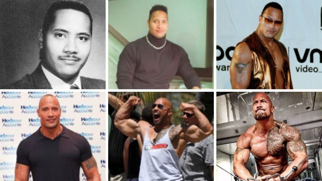 Dwayne Johnson Workout Through The Years
