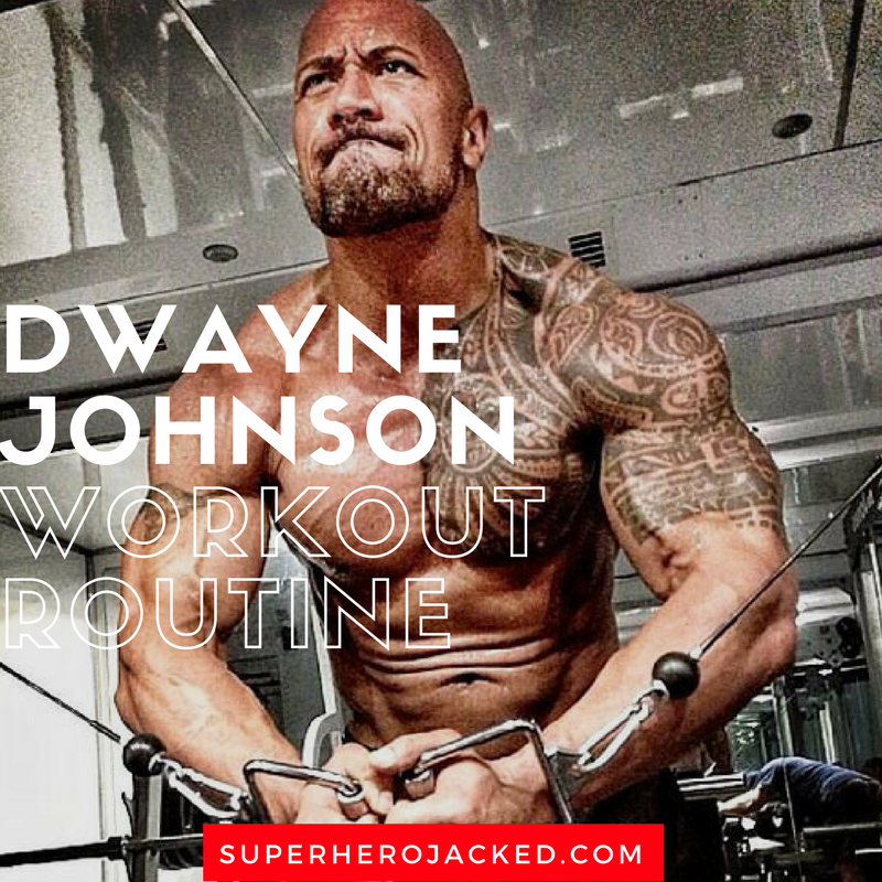 Dwayne Johnson Workout Routine And Diet Plan Train Like The