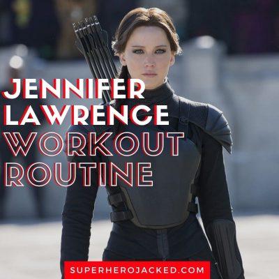 Jennifer Lawrence Workout