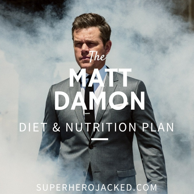 Matt Damon Diet and Nutrition