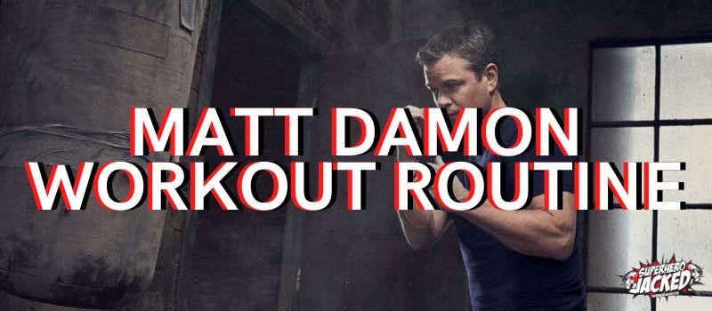 Matt Damon Workout