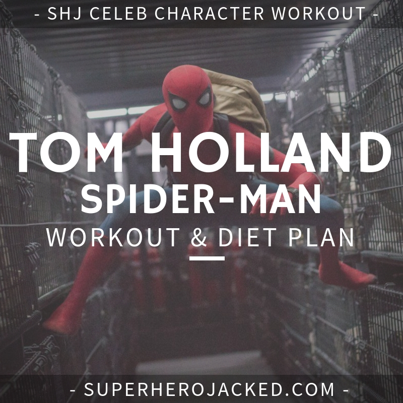 Tom Holland Spider-Man Workout and Diet