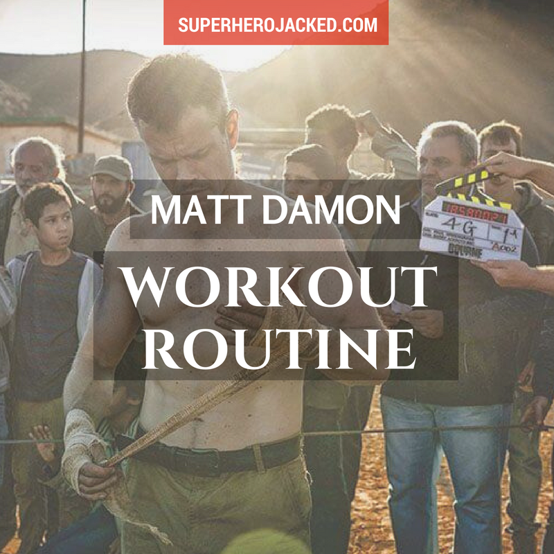 Matt Damon Workout