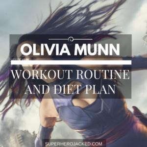 Olivia Munn Workout Routine and Diet: Training like Psylocke