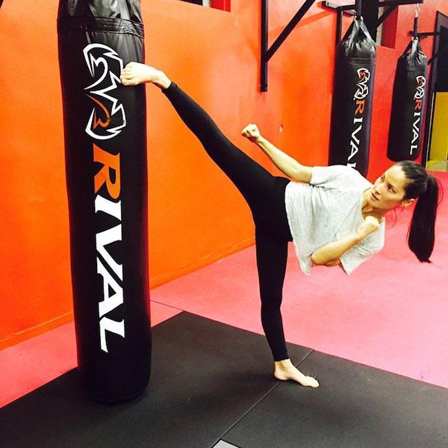Olivia Munn Workout 1