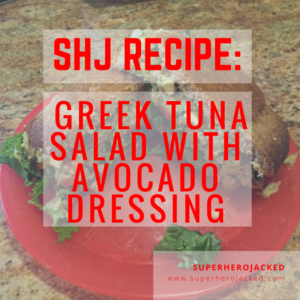 SHJ Recipe: Greek Tuna Salad with Avocado Dressing (Guest Article)