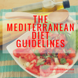 An SHJ Diet Guide: The Mediterranean Diet Guidelines