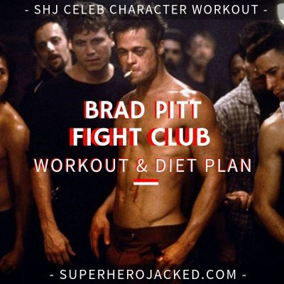 Brad Pitt Workout Routine and Diet: Fight Club meets Achilles of Troy