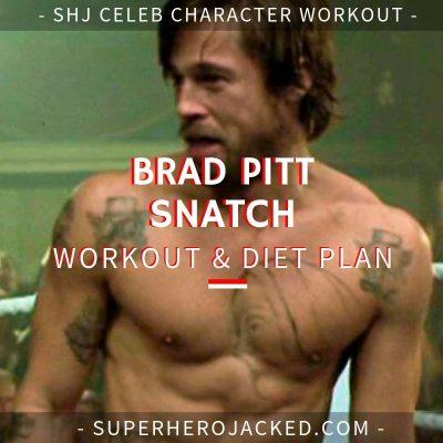 brad pitt troja workout