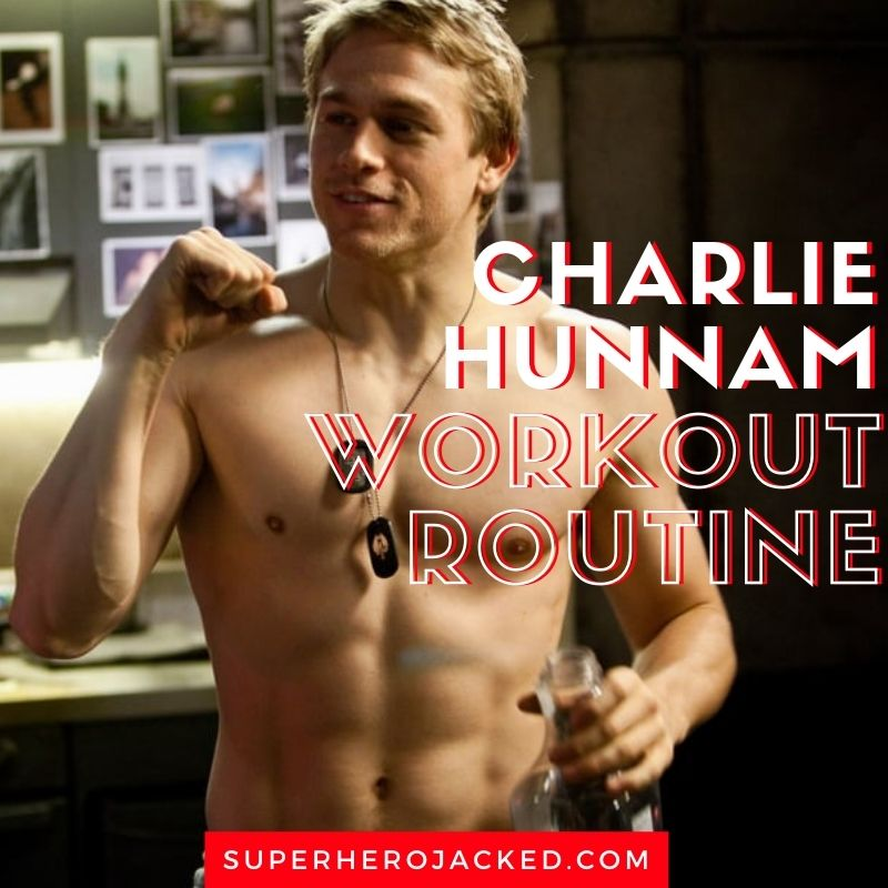 Charlie Hunnam Workout 3