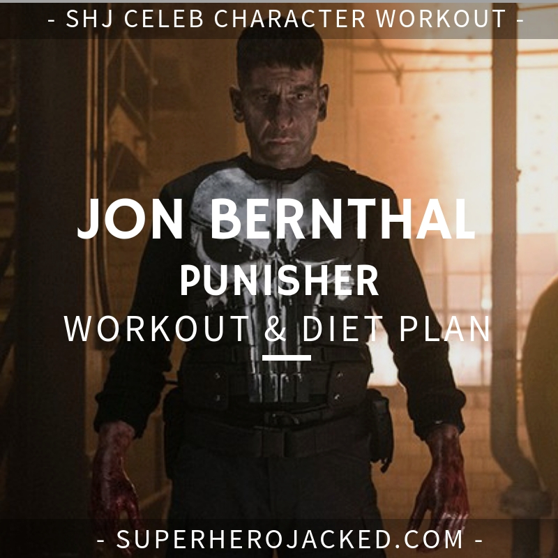 Jon Bernthal Punisher Workout and Diet