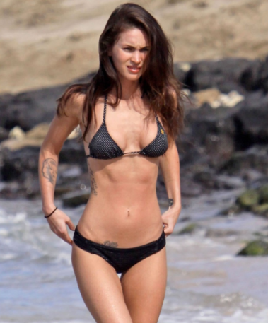 Megan Fox Workout Routine 1