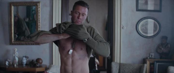 Brad Pitt Workout 3