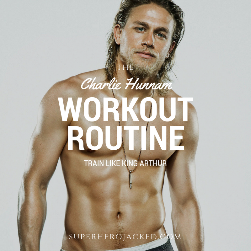 Charlie Hunnam Workout