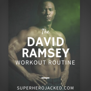 David Ramsey Workout Routine and Diet: Training to Fight Alongside Team Arrow