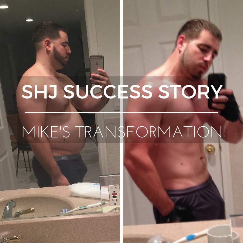 SHJ Success Story: Mike Loses 60 lbs. in 6 Months!