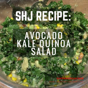 Avocado Kale Quinoa Salad