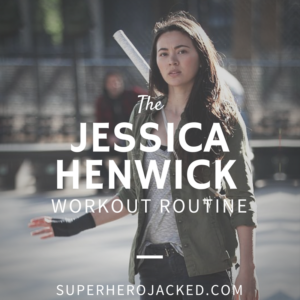 Jessica Henwick Workout