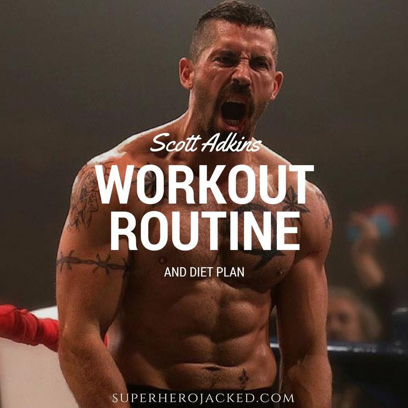 Scott Adkins Workout