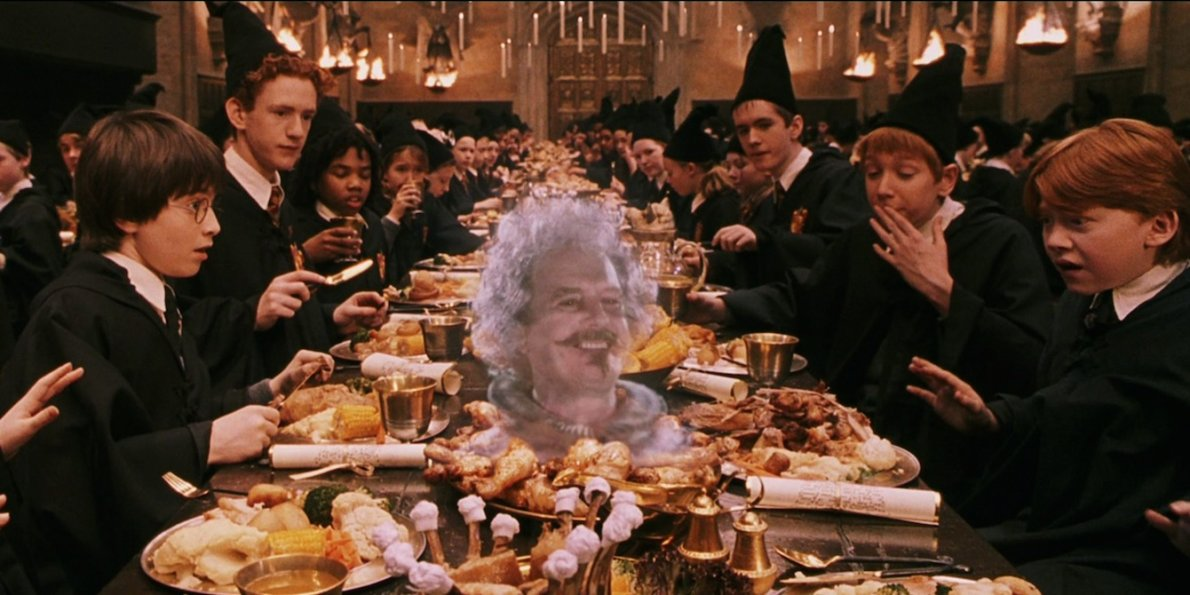 harry potter eating