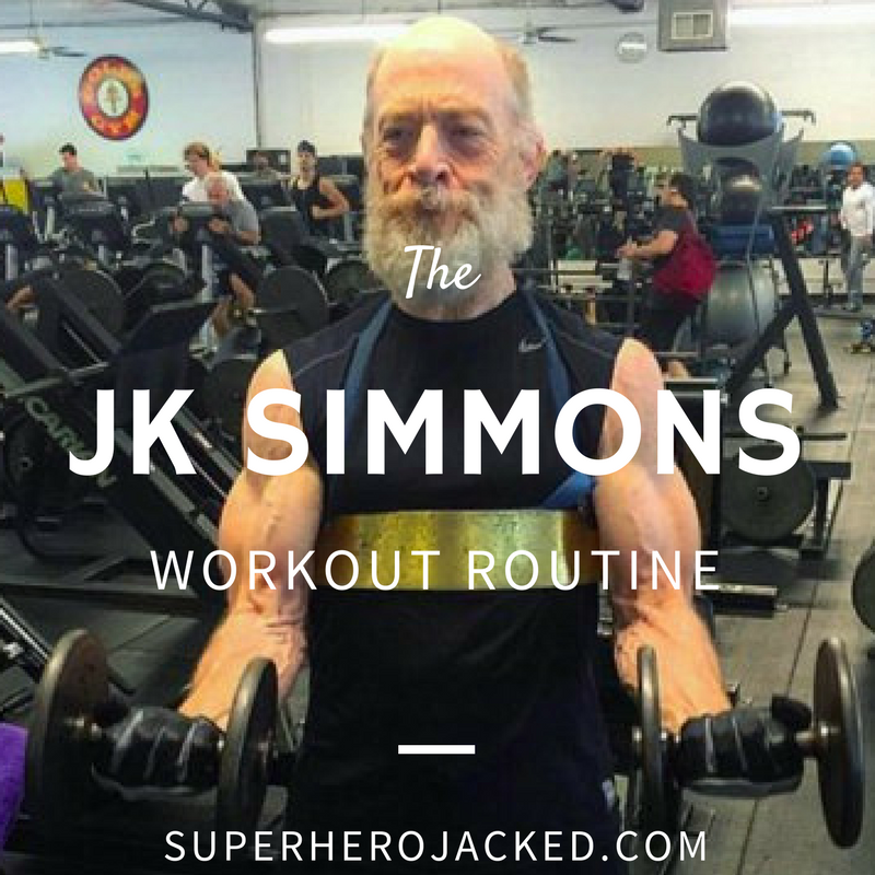 J.K. Simmons Workout Routine