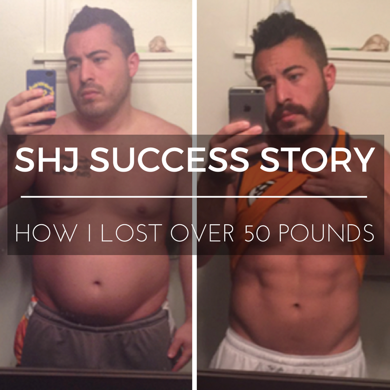 SHJ Success Story: How I Lost 50 lbs
