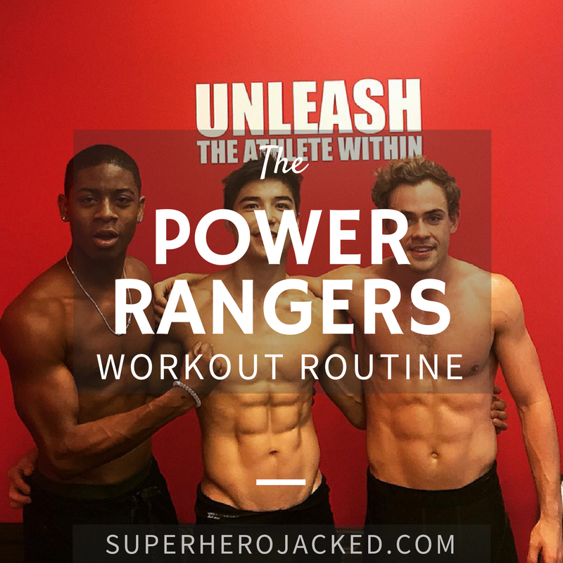 Power Rangers Workout