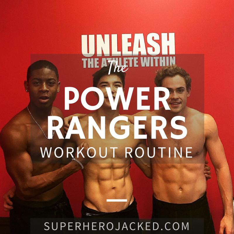 Power Rangers Workout