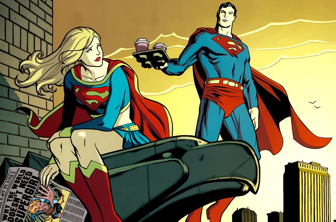 supergirl coffee