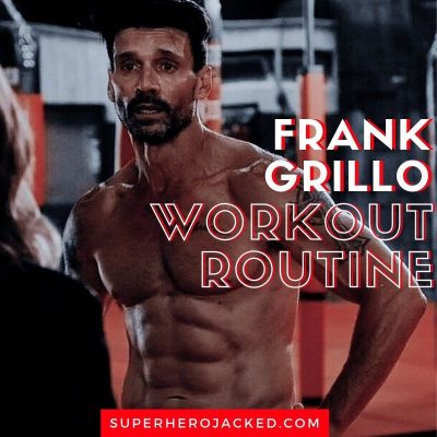 Frank Grillo Workout