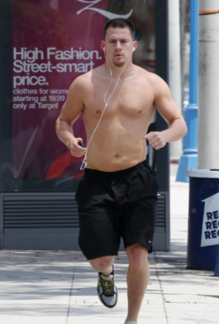 channing tatum running