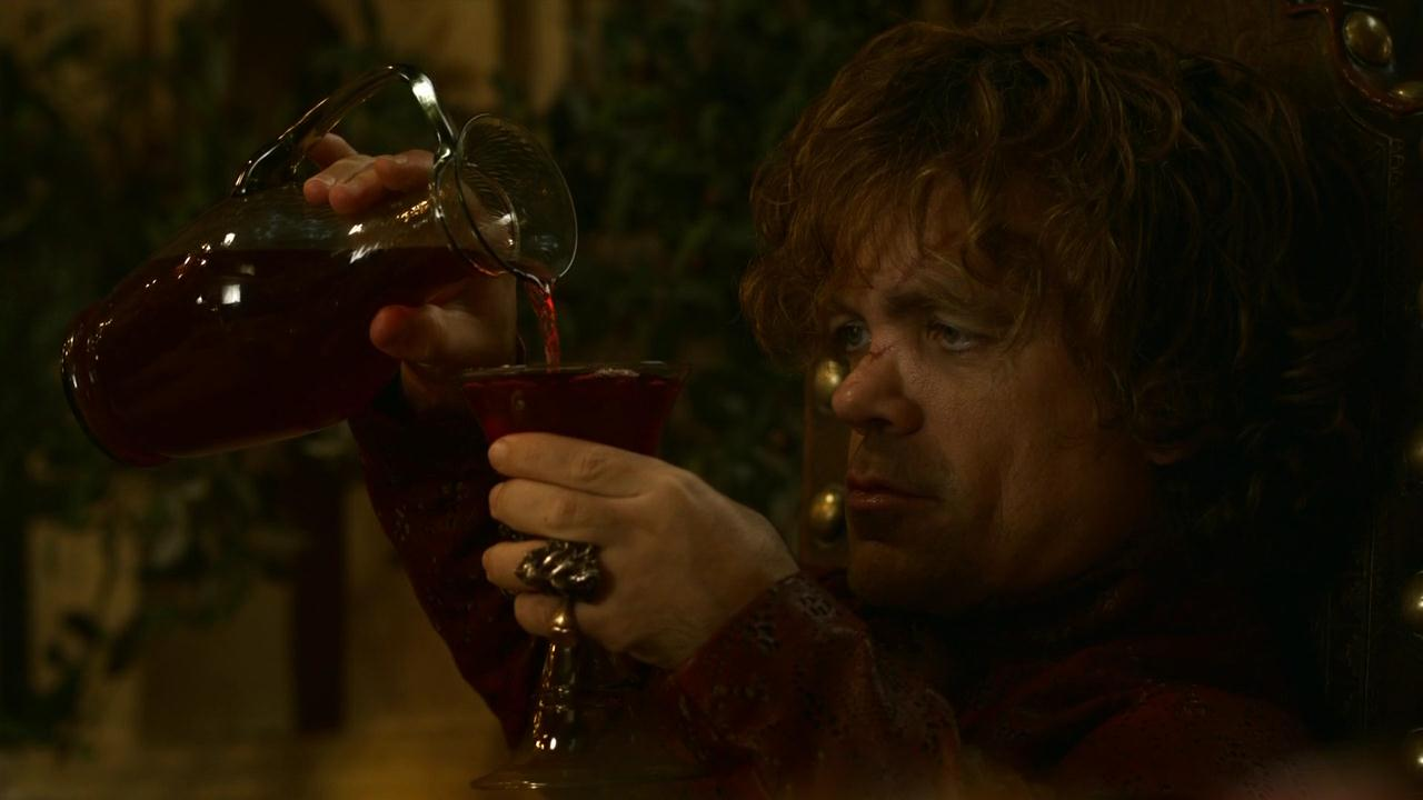 Tyrion Lannister Drinking