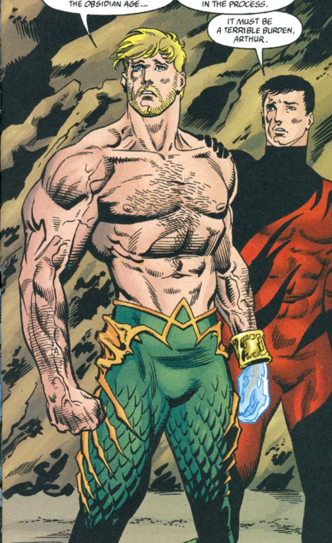 aquaman shirtless