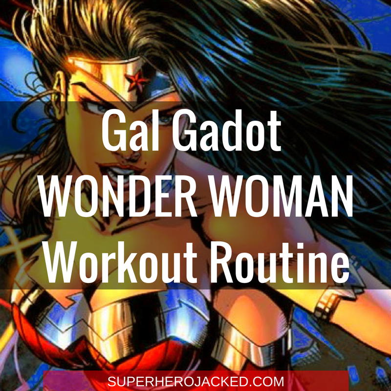 Gal Gadot Wonder Woman Workout