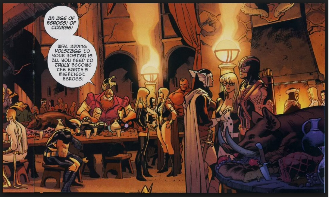 marvel heroes partying
